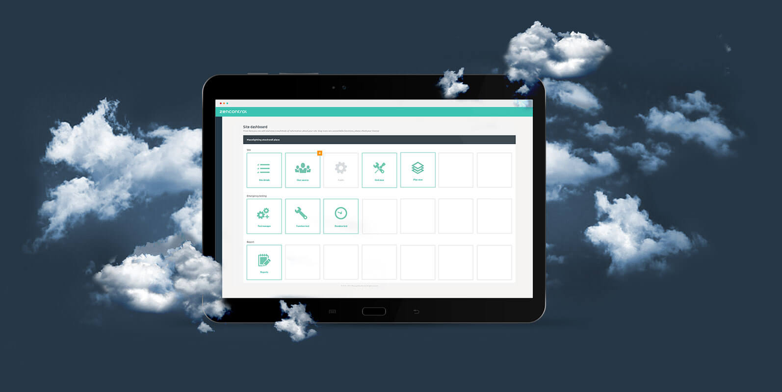 Dali Experts Zencontrol Single Switch Application Use Normal Light As Emergency Click The Cloud Brings An Unprecedented Level Of Functionality And Control To Your Building